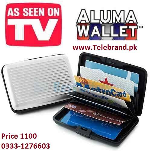 aluma wallet telebrand.pk