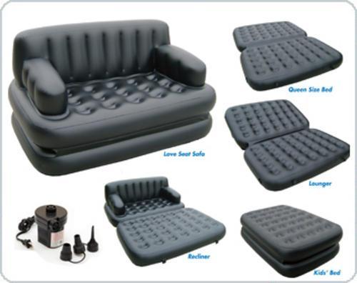 Air lounge 5 in 1 sofa cum bed in pakistan japani air for Sofa bed 5 in 1 murah