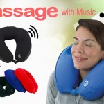 Massager Pillow Music With Speaker Telebrand.pk