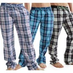 PACK OF 3 CHECKERED TROUSERS PAJAMAS