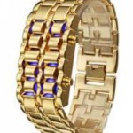 Buy GOLDEN LAVA LED WATCH online in Pakistan