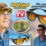 HD NIGHT VISION WRAPAROUNDS WRAP AROUND GLASSES