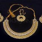 Pearl Golden Jewellery Set
