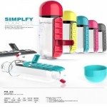 Simplify Your Life With Pills Water Bottle
