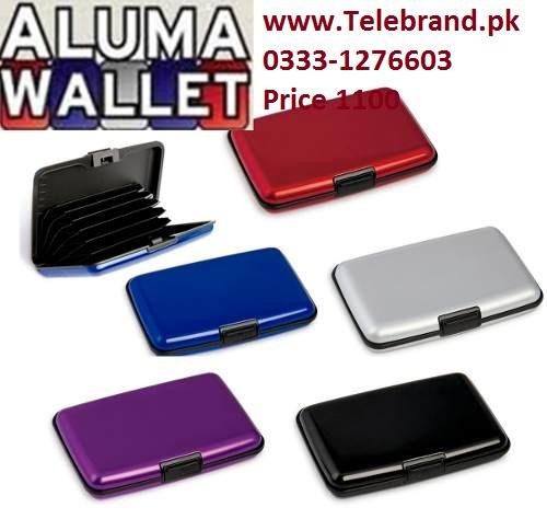 aluma wallet in lahore telebrand