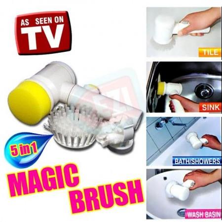 Magic Brush 5 in 1 telebrand.pk