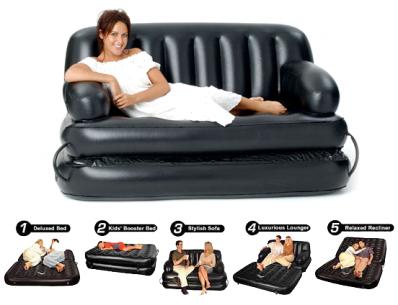air sofa cum bed 5 in 1