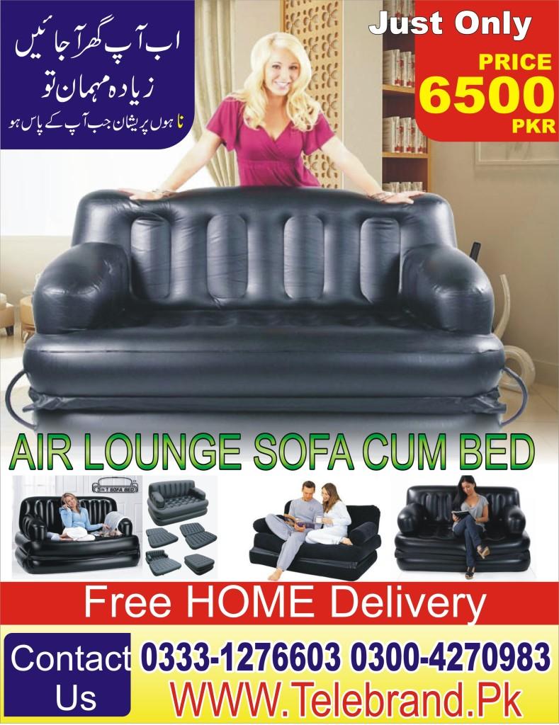 Air lounge sofa cum Bed 5 in 1