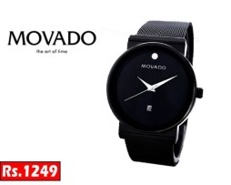 1 MOVADO MUSEUM STYLISH WATCH