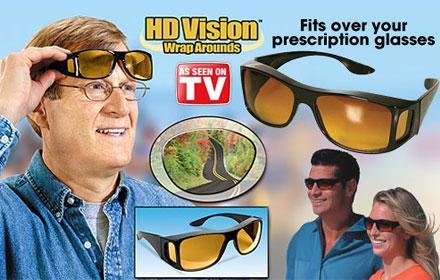 1e6fb66aa37 WonderFul HD Night Vision Wraparounds Wrap Around Glasses in pakistan