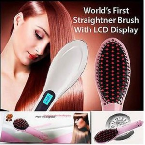 Fast Hair Straightener Brush
