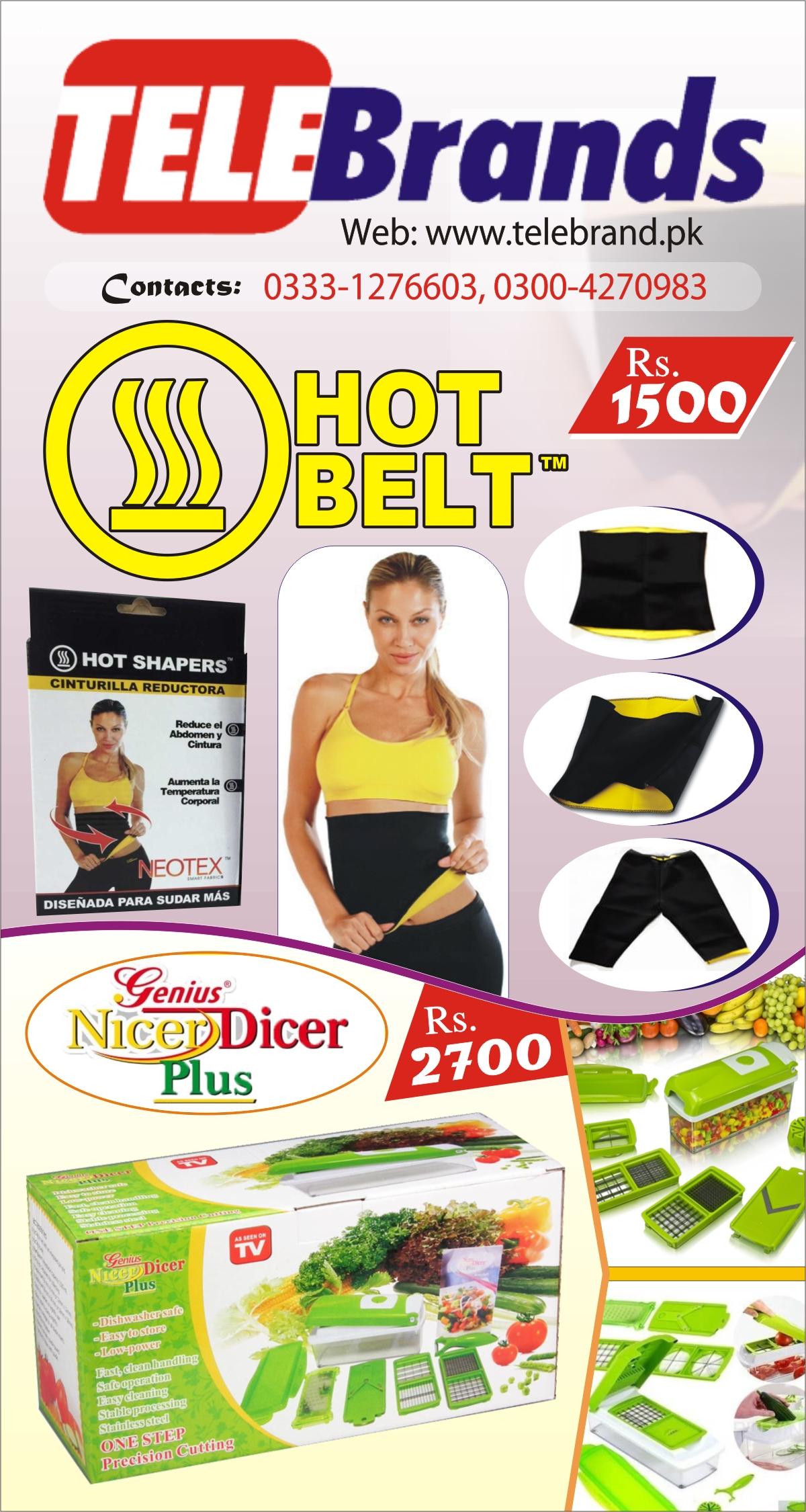 Hot Belt + Nicer Dicer
