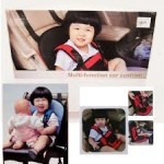 Multi function Baby Car Cushion Seat with Safety Belt in pakistan