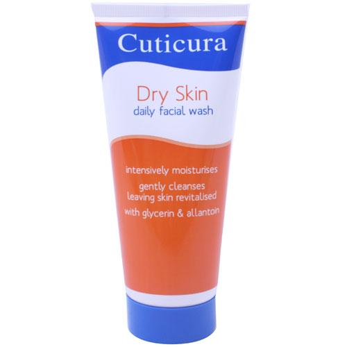 Cuticura Dry Skin Daily Facial Wash