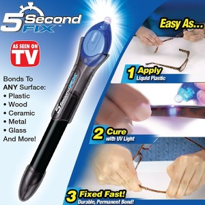 5 Second Fix (Liquid - Plastic Welding Tool) UV Light