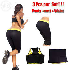 Hot Shaper Pack Of 3: 1 Hot Belt + 1 Hot Shaper Trouser + 1 Hot Shaper Blouse