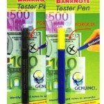 Bank note tester pen