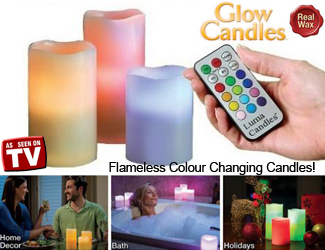 original Color Changing Luma Candles in Pakistan