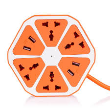 4 usb Hexagon Socket
