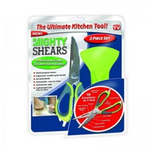 Mighty Shears 10 in 1 Kitchen Tool 2 Piece Set in Pakistan