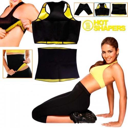 Pack of 4 Hot Shaper Belt, Trouser, Bra & Bodysuit