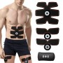 1 Training Gear Six Pad Abs Fit - Define And Enhance Your Core Abdominal Muscles