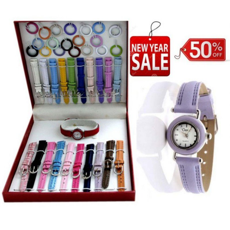 Ladies watch 42 pices
