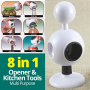 All Open 8-in-1 Multi Purpose Opener Kitchen Tool.202