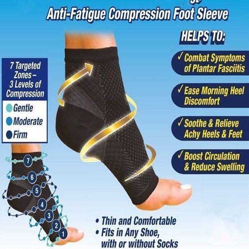 Foot Angel Anti Fatigue Compression Foot Sleeve in Pakistan