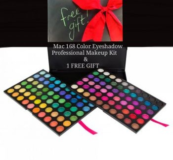 Mac 168 Color Eyeshadow Makeup Kit in pakistan