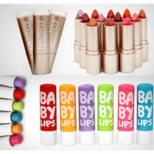 Pack Of 12 Naked3 Lipsticks & 12 Baby Lips Balm Free