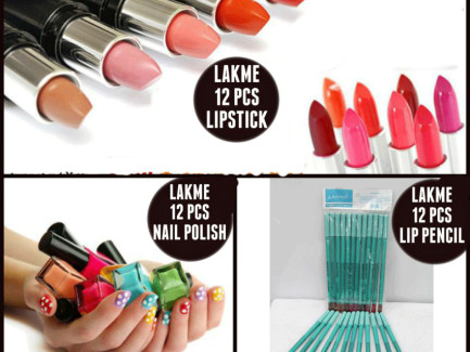 Pack of 36 Lakme Cosmetics for Her