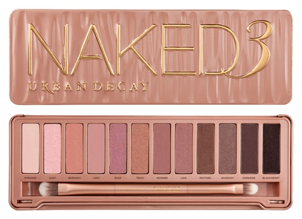 Urban Decay Naked 3 Eyeshadows