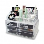 cosmetics jewelry organizer storage box case in pakistan
