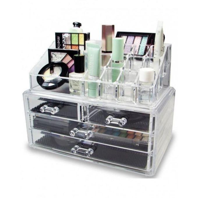 cosmetics jewelry organizer storage box case in pakistan