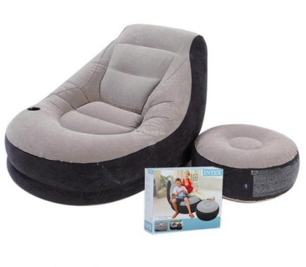 Double Power Air Lounge Chair With Cushion In Pakistan