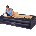 Intex Dual Layer Air Bed With Pillow Rest 66706