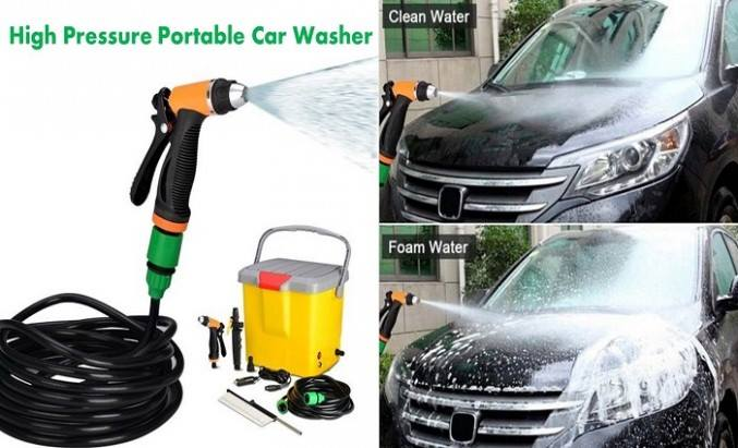 Portable Automatic Car Washer