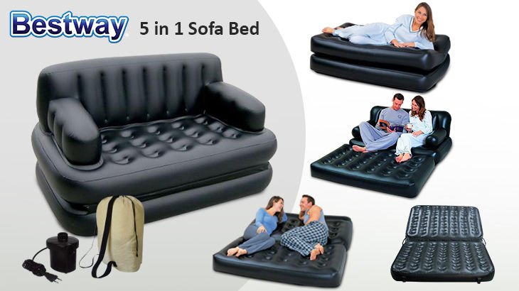 Air lounge sofa cum Bed 5 in 1 in pakistan