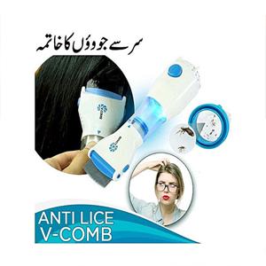 v comb anti lice machine